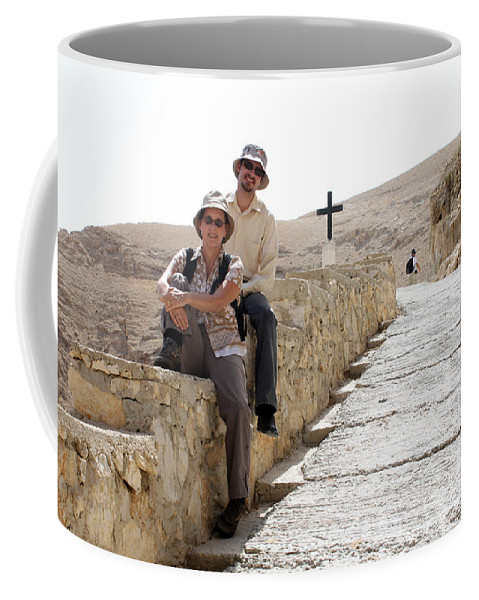 Trip Coffee Mug featuring the photograph Trip To Jericho by Munir Alawi