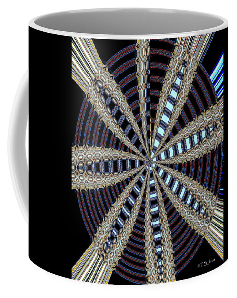 Triple Abstract Coffee Mug featuring the photograph Triple Abstract by Tom Janca