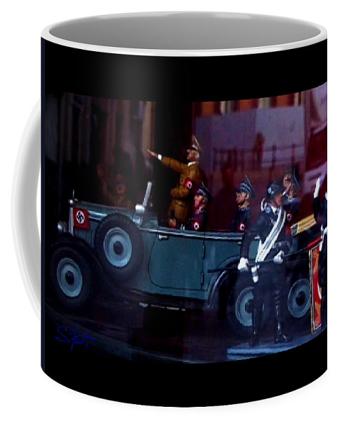 Dream Coffee Mug featuring the photograph Triumph In Miniture by Charles Stuart