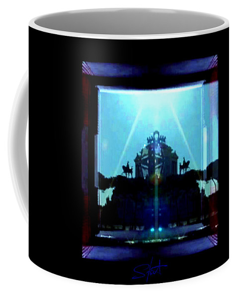 Dream Coffee Mug featuring the photograph Triumph In Rome by Charles Stuart