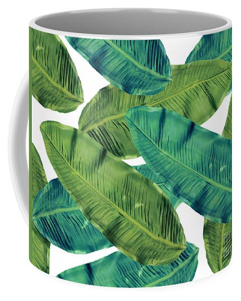 Summer Coffee Mug featuring the digital art Tropical Colors 2 by Mark Ashkenazi