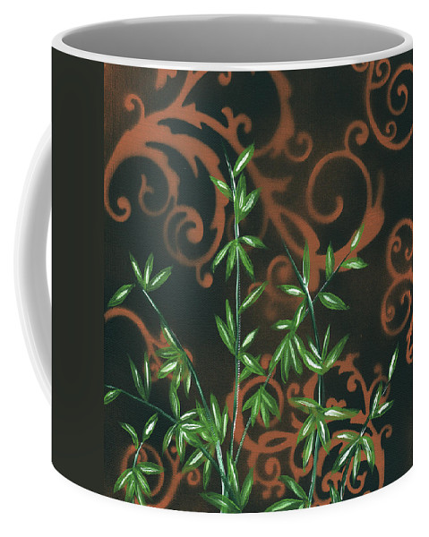 Wall Coffee Mug featuring the painting Tropical Dance 2 By Madart by Megan Duncanson