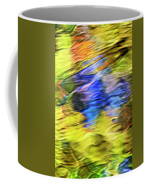 Tropical Coffee Mug featuring the photograph Tropical Mosaic Abstract Art by Christina Rollo