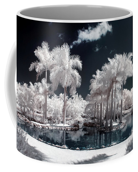 3scape Photos Coffee Mug featuring the photograph Tropical Paradise Infrared by Adam Romanowicz