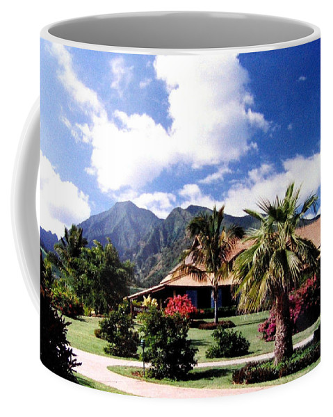 1986 Coffee Mug featuring the photograph Tropical Plantation by Will Borden