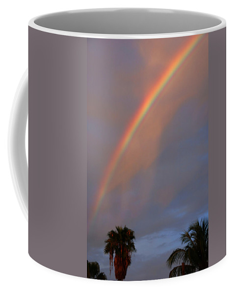Photography Coffee Mug featuring the photograph Tropical Rainbow by Susanne Van Hulst