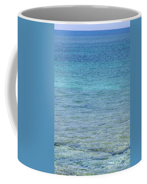 Water Coffee Mug featuring the photograph Tropical Waters by Anthony Totah
