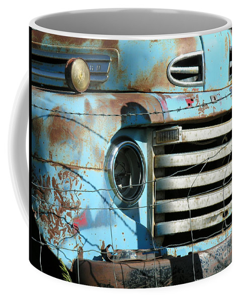 Truck Coffee Mug featuring the photograph Trucks Life by Diane Greco-Lesser
