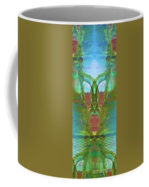 Abstract Coffee Mug featuring the photograph True Form by Gwyn Newcombe