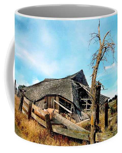 Rural Coffee Mug featuring the photograph Truly Abandoned by Norman Andrus