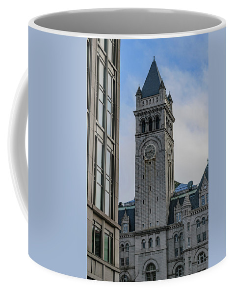 America Coffee Mug featuring the photograph Trump Hotel Washington D.c. by Cityscape Photography