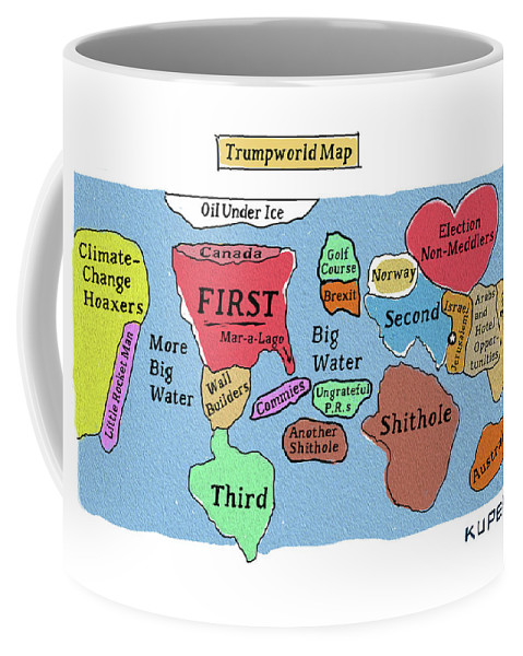Trumpworld Map Coffee Mug