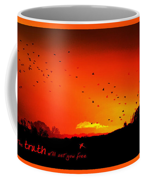 Landscape Coffee Mug featuring the photograph Truth by Holly Kempe