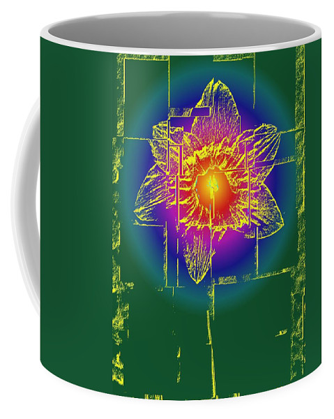 Tulip Coffee Mug featuring the digital art Tulip by Tim Allen