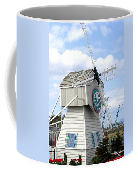 Agriculture Coffee Mug featuring the photograph Tulip Town 1 by Will Borden