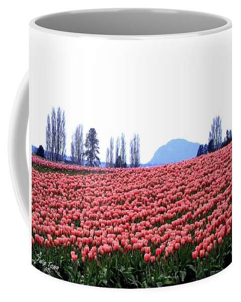 Agriculture Coffee Mug featuring the photograph Tulip Town 3 by Will Borden