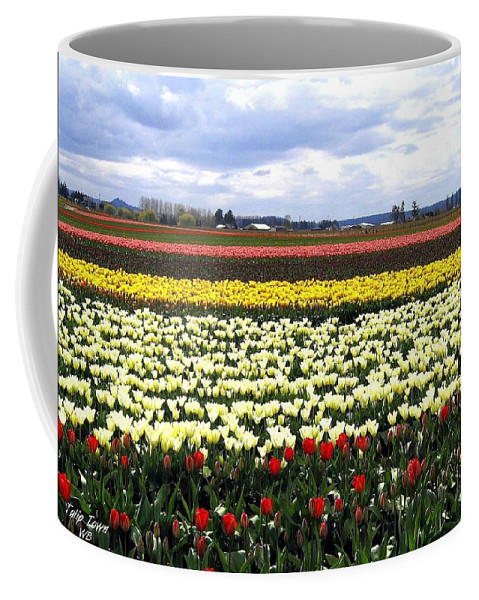 Agriculture Coffee Mug featuring the photograph Tulip Town 4 by Will Borden