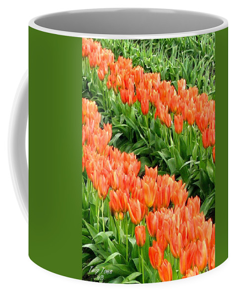 Agriculture Coffee Mug featuring the photograph Tulip Town 7 by Will Borden