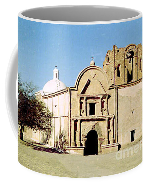 Mission Coffee Mug featuring the photograph Tumacacori by Kathy McClure