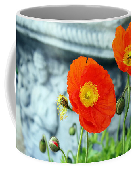 Flower Coffee Mug featuring the photograph Tuned In by Deborah Crew-Johnson