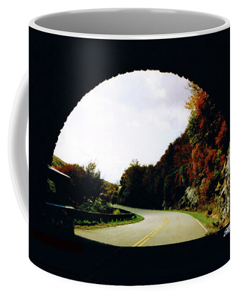 Tunnel Vision Coffee Mug featuring the photograph Tunnel Vision by Seth Weaver