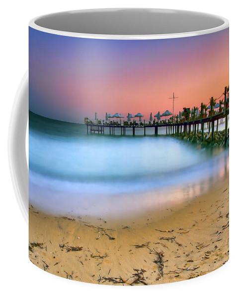 Turkey Coffee Mug featuring the photograph Turkish Sunset by Nadia Sanowar