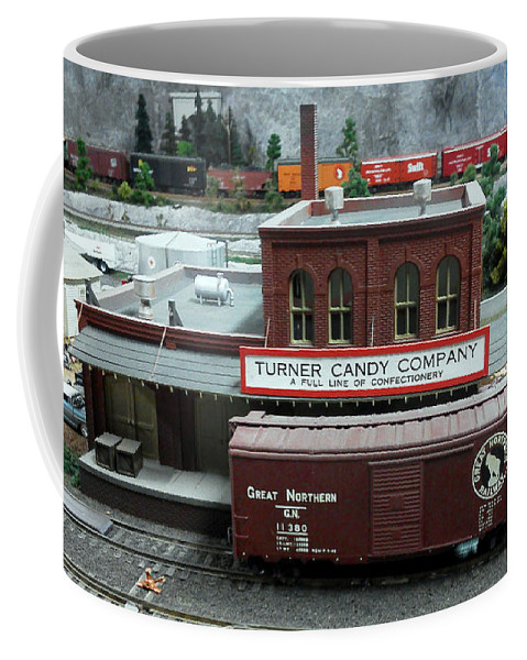 Blue Coffee Mug featuring the photograph Turner Candy Co by Pat Turner