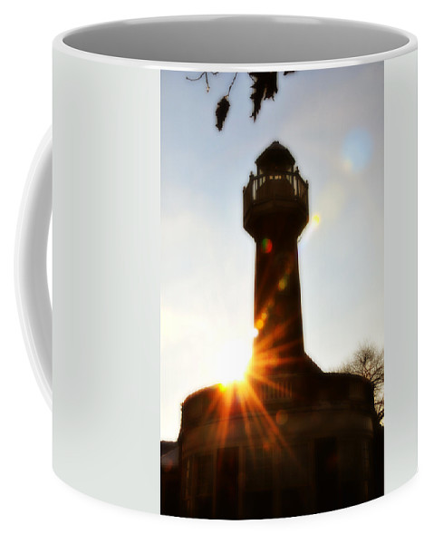 Turtle Rock Lighthouse Coffee Mug featuring the photograph Turtle Rock Light House by Bill Cannon