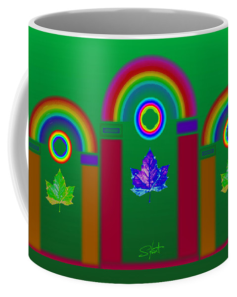 Classical Coffee Mug featuring the painting Tuscan Equinox by Charles Stuart