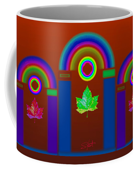 Classical Coffee Mug featuring the painting Tuscan Heat by Charles Stuart
