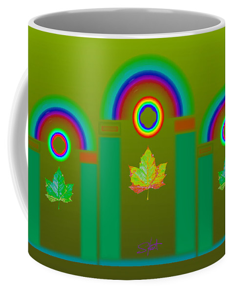Classical Coffee Mug featuring the digital art Tuscan Olive by Charles Stuart