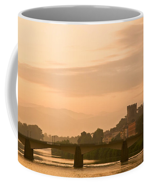 Tuscany Coffee Mug featuring the photograph Tuscan Sunrise by Mick Burkey