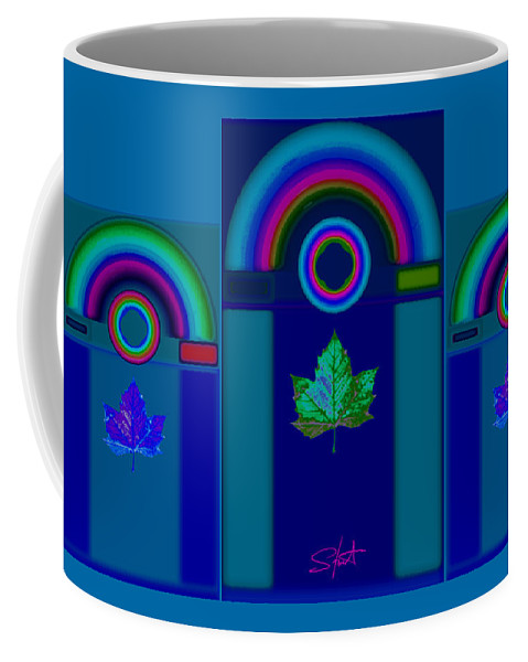 Classical Coffee Mug featuring the digital art Tuscan Winter by Charles Stuart