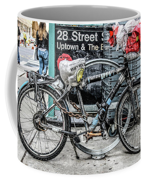 Art Coffee Mug featuring the photograph Twenty Eight Street by Amanda Armstrong