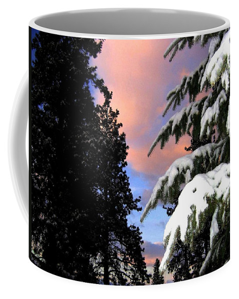 Sunset Coffee Mug featuring the photograph Twilight Hour by Will Borden