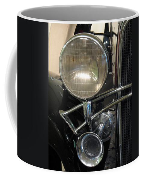 Chevy Coffee Mug featuring the photograph Twilite by Kelly Mezzapelle