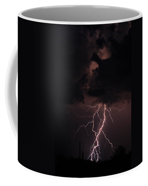 Lightning Coffee Mug featuring the photograph Twisted Sister by James BO Insogna