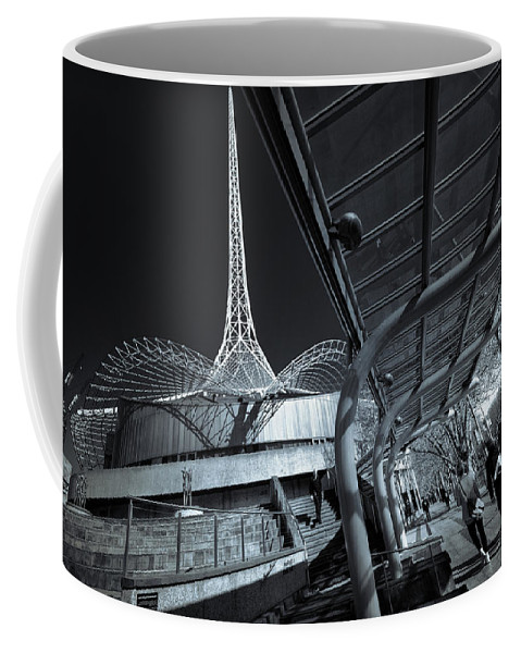 Architecture Coffee Mug featuring the photograph Twister by Wayne Sherriff