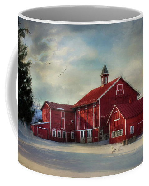 Geese Coffee Mug featuring the photograph Two By Two by Lori Deiter