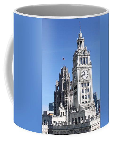 Architecture Coffee Mug featuring the photograph Two Icons by Lauri Novak