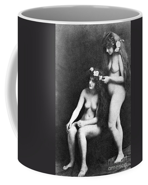 Coffee Mug featuring the painting Two Nudes, 1913 by Granger
