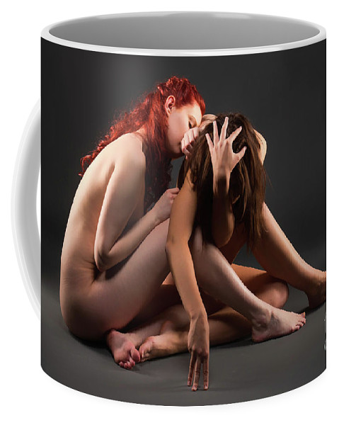 Bodyscape Body Scape Coffee Mug featuring the photograph Christiana And Ciara - 5 by Robert McAlpine