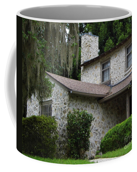 Chert Coffee Mug featuring the photograph Two Story Beauty by D Hackett