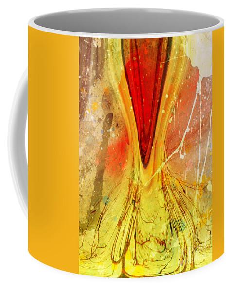 Art Coffee Mug featuring the digital art Two Trees by Tara Turner