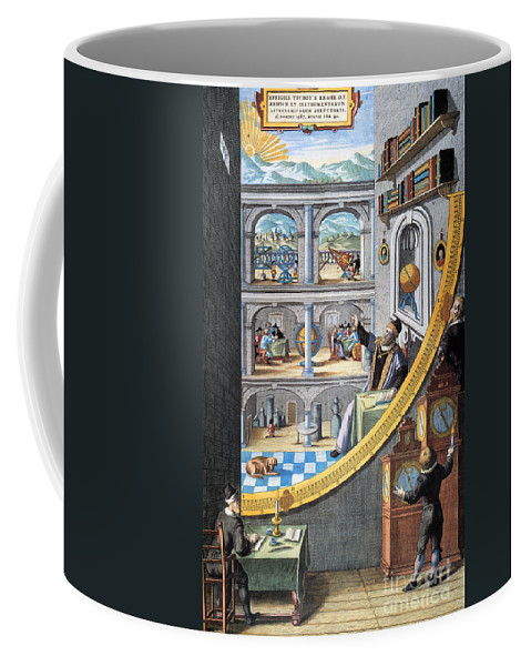16th Century Coffee Mug featuring the photograph Tycho Brahe (1546-1601) by Granger