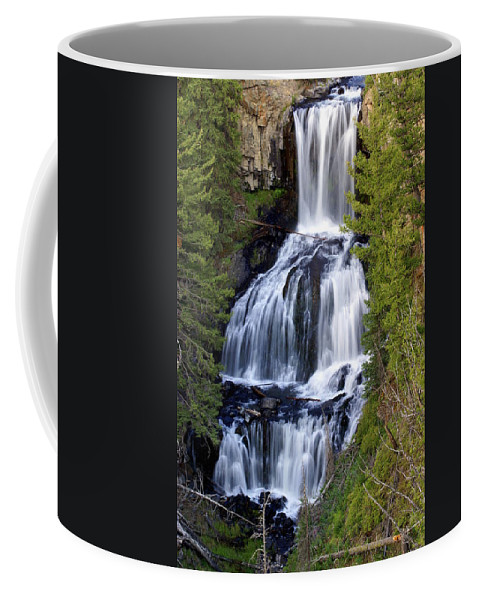 Udine Falls Coffee Mug featuring the photograph Udine Falls by Marty Koch