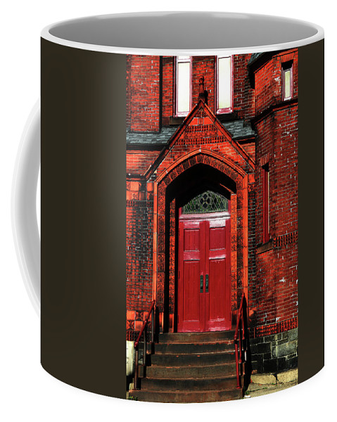Church Coffee Mug featuring the photograph Ukrainian Catholic Church by Karol Livote