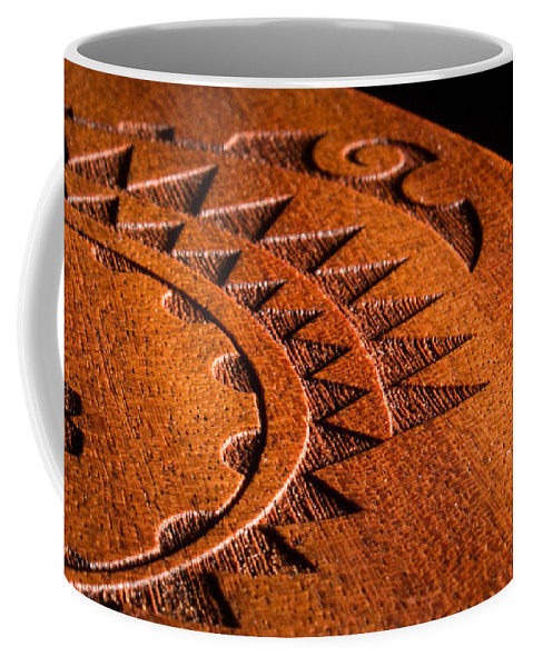 Ukulele Coffee Mug featuring the photograph Ukulele Detail by Samantha Glaze