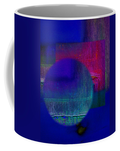 Landscape Coffee Mug featuring the painting Ultradeep Lavender by Charles Stuart