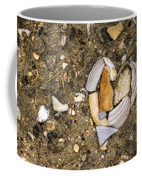 Beach Coffee Mug featuring the photograph Unbreak My Heart by Evelina Kremsdorf